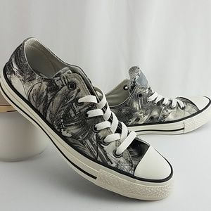 New Womens Converse Chuck Taylor Sneakers Gray